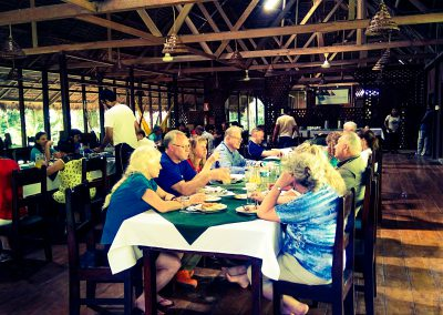 sandoval lake lodge dinning room